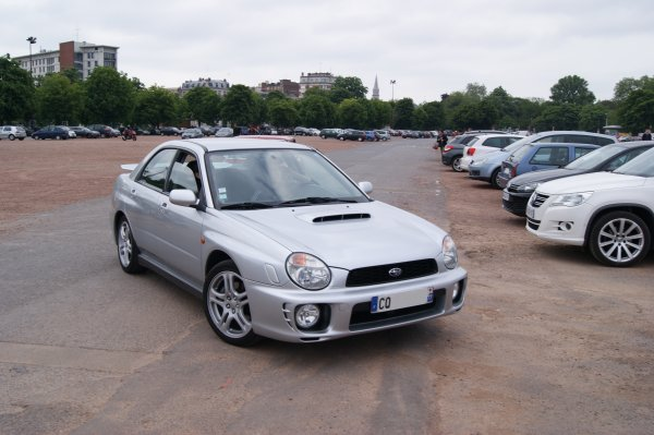 Subaru Impreza WRX STI 2000