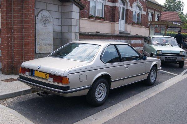 BMW 628 CSi 1982