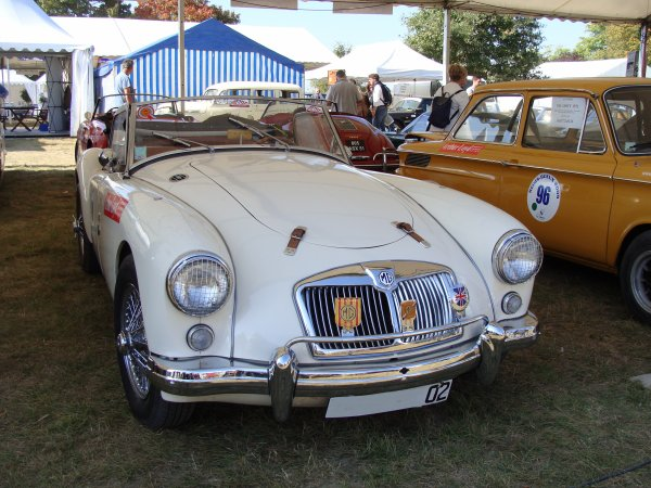MG A 1500 1955