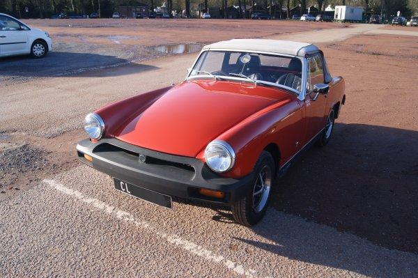 MG Midget 1500 1974