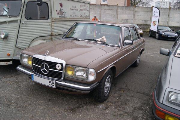 Mercedes 300D W123 1980