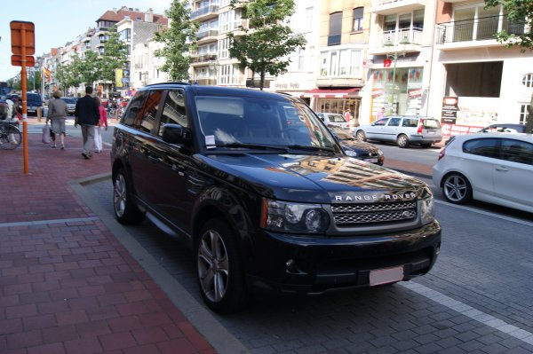 Land Rover Range Sport Supercharged 2009