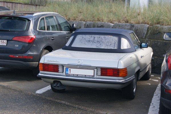 Mercedes 380 SL 1980