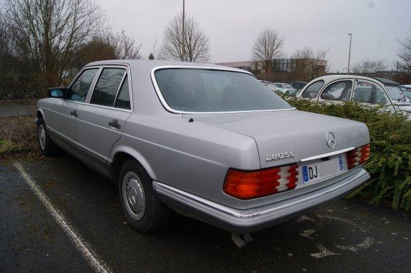 Mercedes 280 SE W126 1979