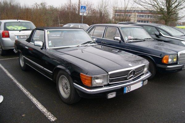 Mercedes SL R107 1980