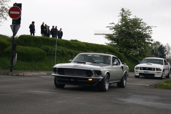 Ford Mustang Sportroof 1969