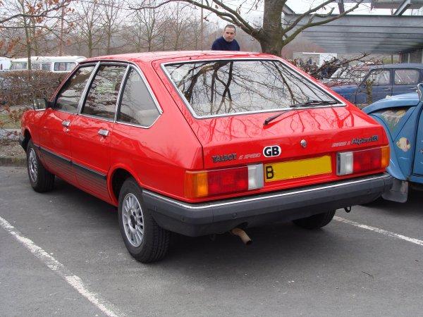Talbot Alpine GL 1985