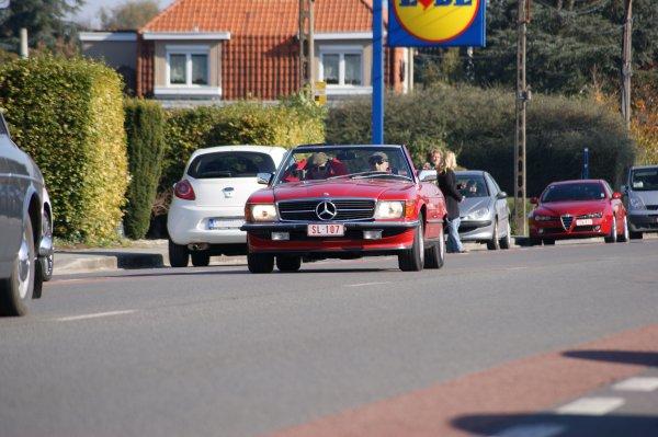 Mercedes SL R107 1986