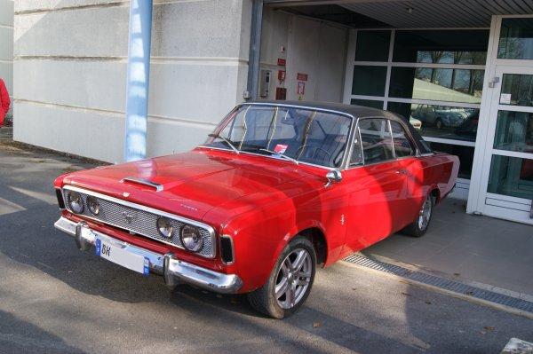 Ford Taunus 20 M P7 1968