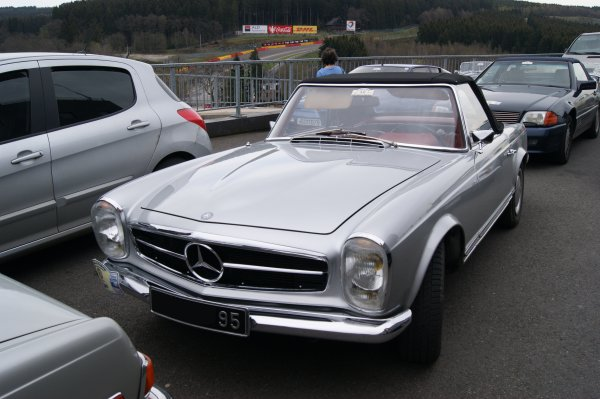 Mercedes 280 SL W113 1967