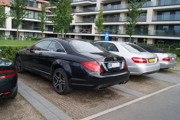 Mercedes CL C216 63 AMG 2010