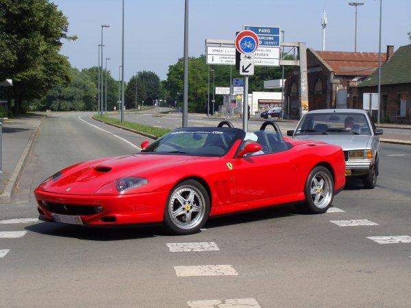 Ferrari 550 Barchetta 2000
