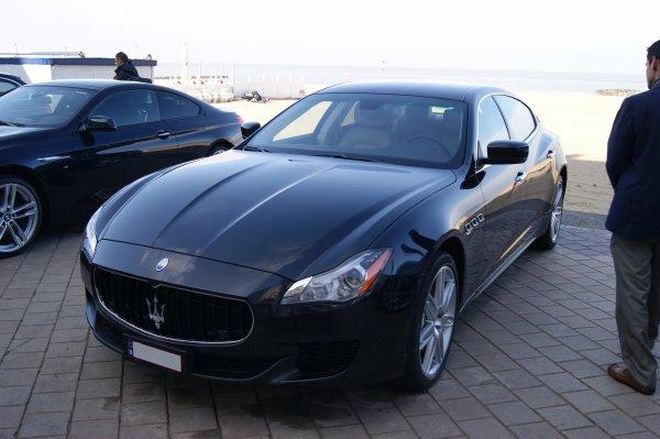 Maserati Quattroporte GTS 2012