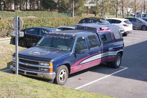 Chevrolet Silverado GMT 400 Crew Cab 1995