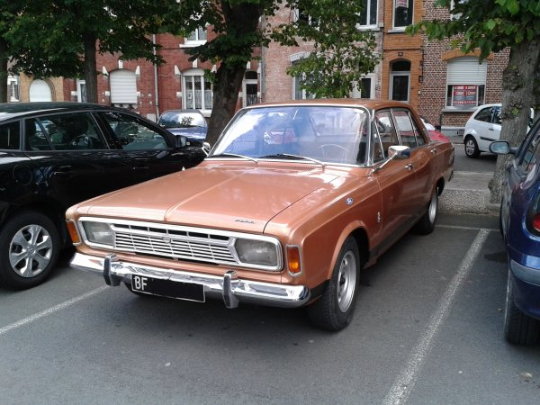 Ford Taunus 17 M P7 1968