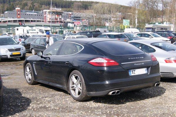 Porsche Panamera 4S 2008