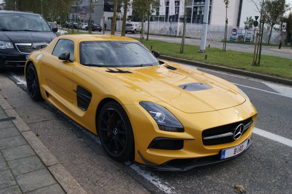 Mercedes SLS AMG Black Series 2012