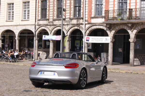 Porsche Boxster 981 S 2012