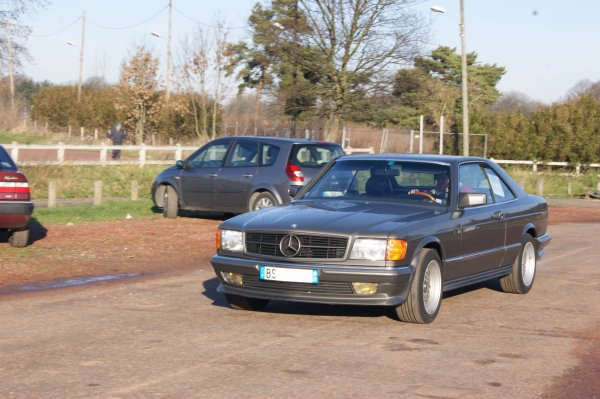 Mercedes SEC C126 1981