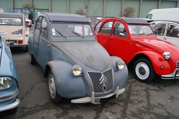 Citroën 2 CV AZ 1957