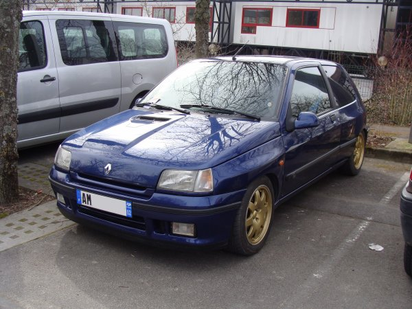 Renault Clio Williams Swiss Champion 1995