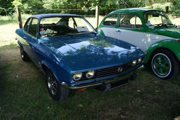 Opel Manta A Berlinetta 1973