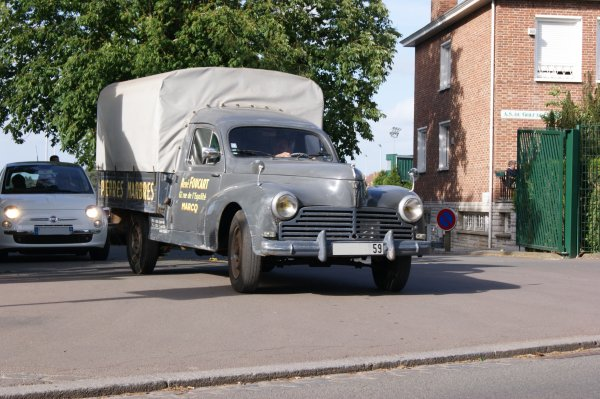 Peugeot 203 pick-up 1953