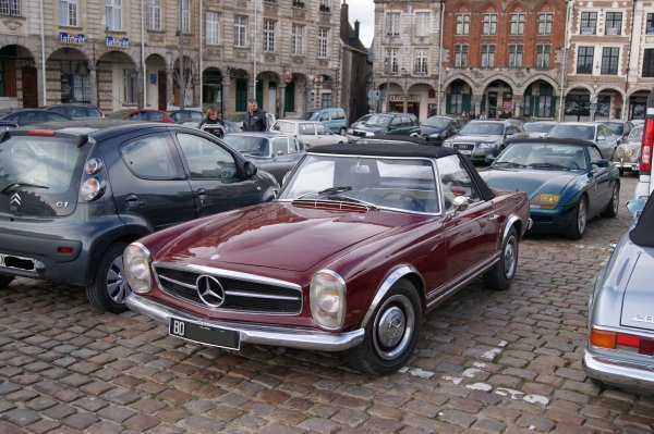 Mercedes 230 SL 1963