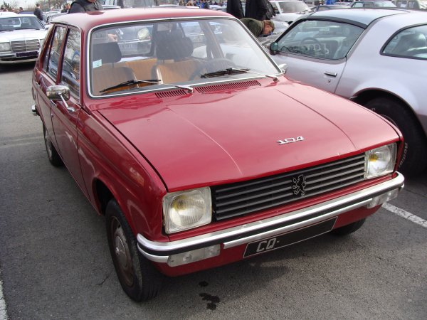 Peugeot 104 GL 1977