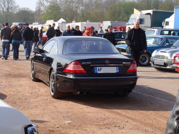 Mercedes CL C215 55 AMG 2002