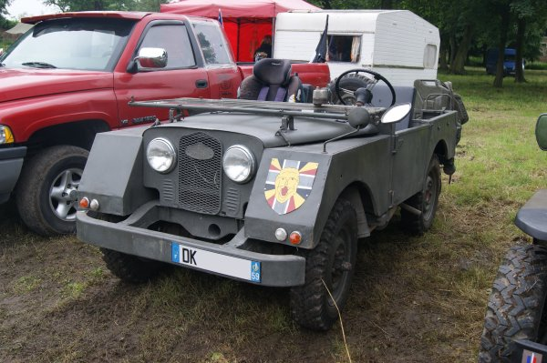 Minerva Land Rover 1952