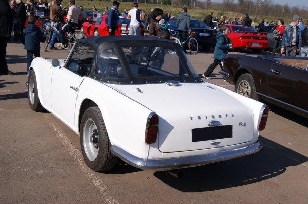 Triumph TR4 1962