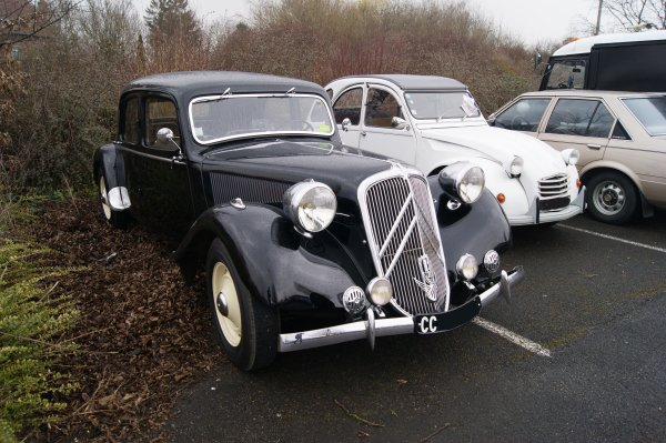 Citroën Traction 15-6D 1948
