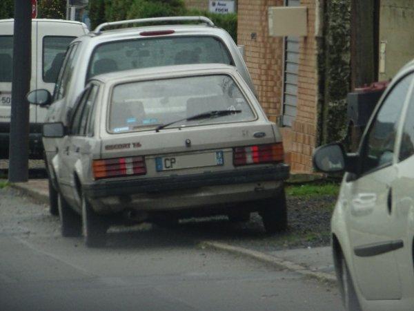 Renault Escort Laser 1984