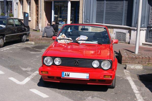 Volkswagen Golf 1 Cabriolet Sport Line 1991
