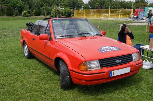 Ford Escort Cabriolet 1983