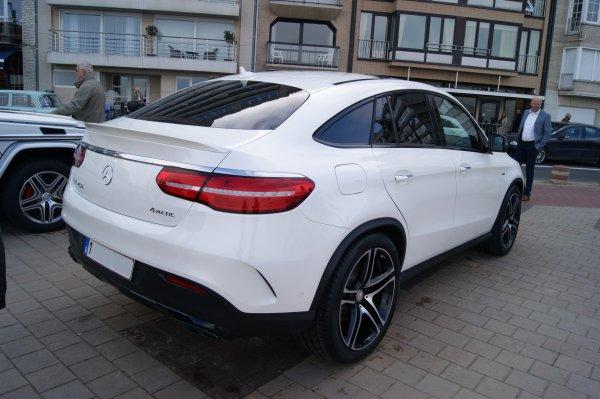 Mercedes GLE 450 C292 2015