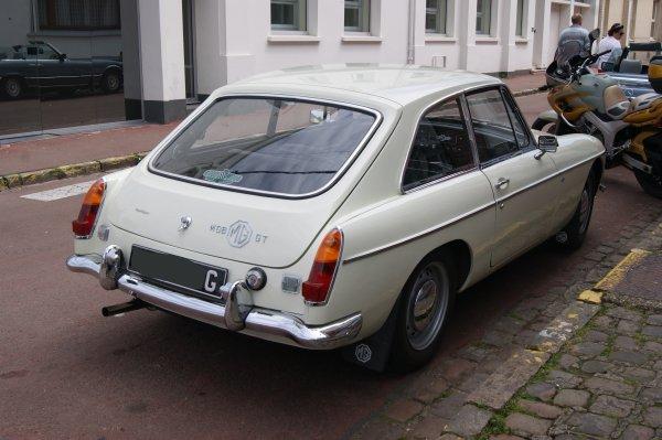 MG B GT 1968