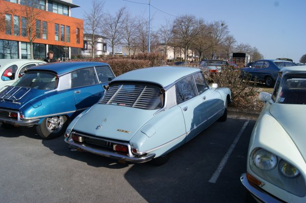 Citroën DS 21 Pallas 1971