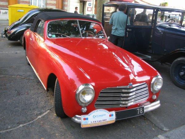 Simca 8 Sport 1950