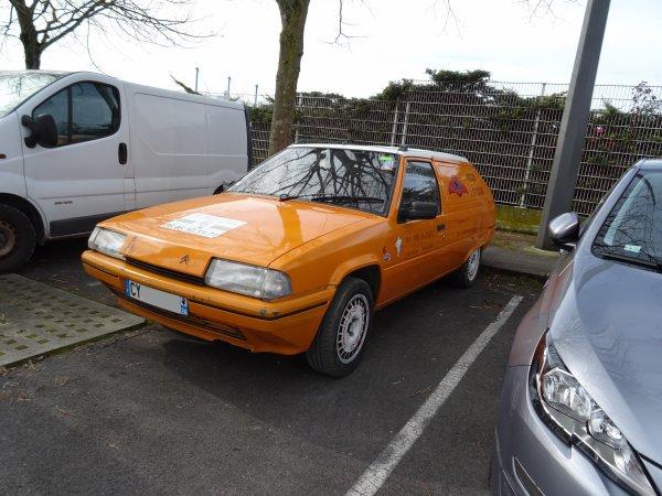 Citroën BX Service 1987