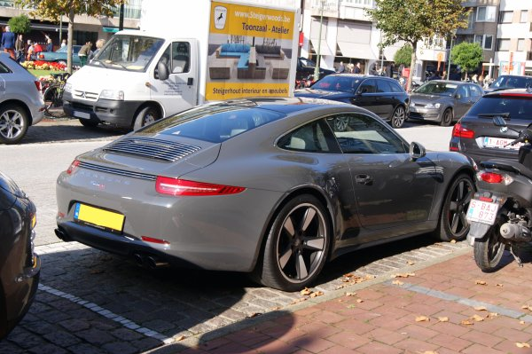 Porsche 991 50Th Anniversary Edition 2013