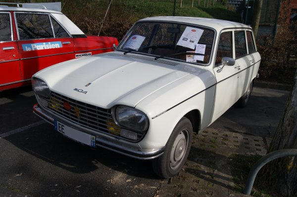 Peugeot 204 Break 1967