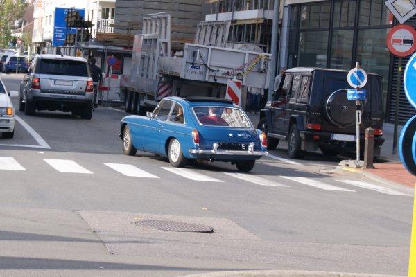 MG B GT 1967