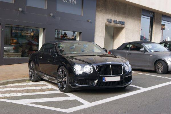 Bentley Continental GTC V8 2012
