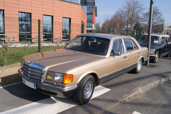 Mercedes 500 SE W126 1979