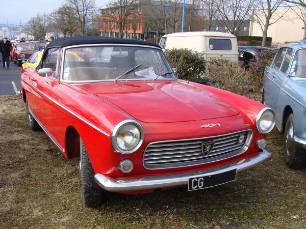 Peugeot 404 Cabriolet 1961