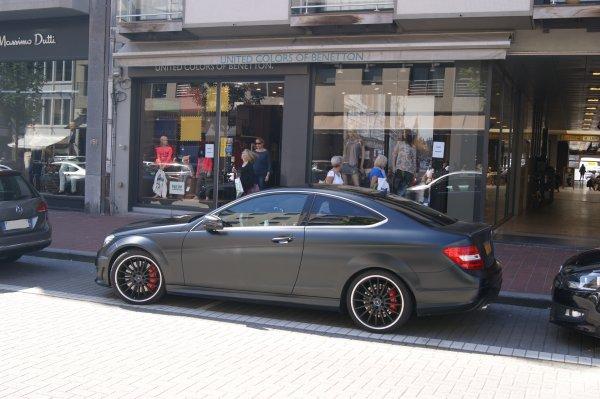 Mercedes C W204 63 AMG 2011