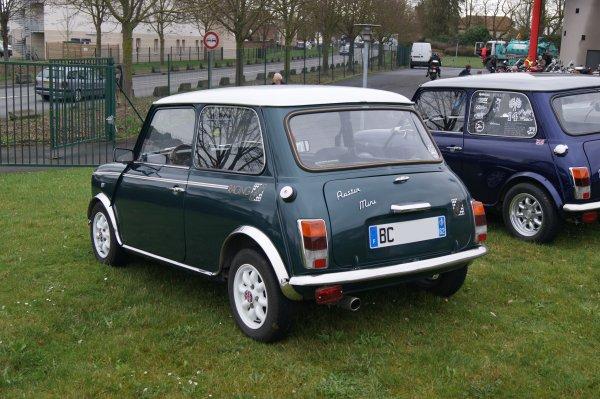 Mini Racing Green 1989