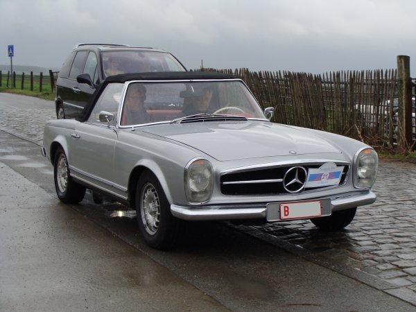 Mercedes SL W113 1963